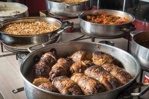 תבשילים דרוזיים - המטבח של האחיות ונורה - חוויה קולינרית מהמטבח הדרוזי