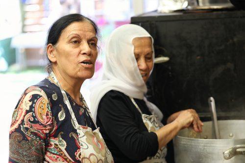 נורה והאחיות במטבח - המטבח של האחיות ונורה - חוויה קולינרית מהמטבח הדרוזי