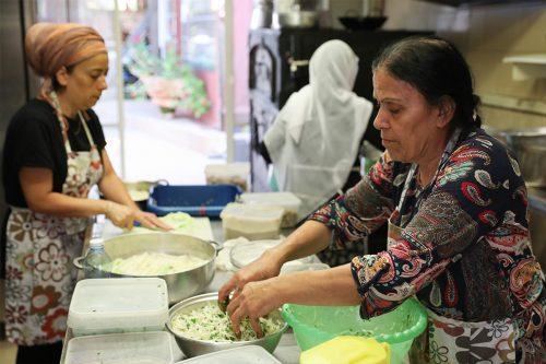 ההכנה במטבח - המטבח של האחיות ונורה - חוויה קולינרית מהמטבח הדרוזי
